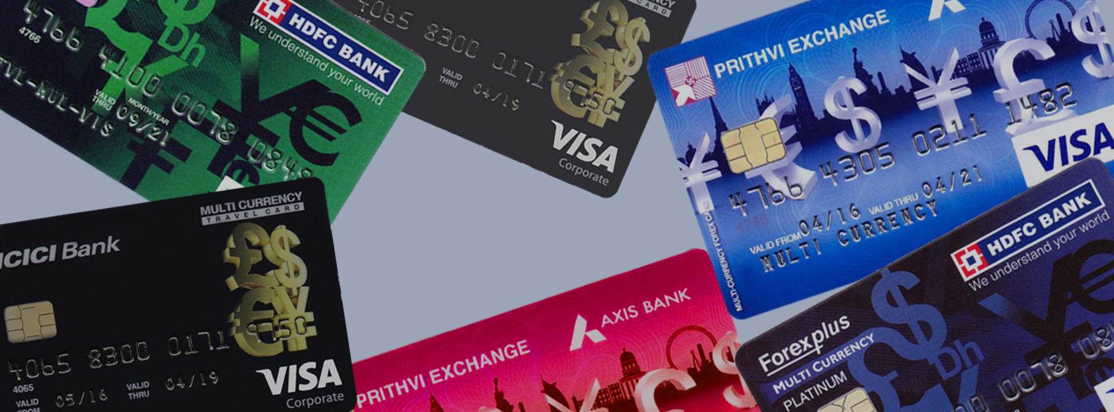 MULTI CURRENCY CARD